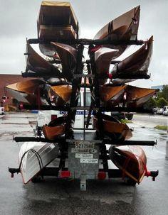 Kayak trailer, Bike trailers and Kayaks on Pinterest