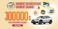 Concours Canada Dry 100 000$ en prix instantanés à gagner! Calgary, Grand Prix, Inflatable Paddle Board, Instant Win Games, Corn Hole Game, Canada, Smart Tv, Products, Enterprise Application Integration