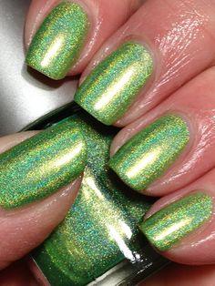 Lime Green Holo....love!