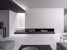 Porcelain stoneware wall/floor tiles with concrete effect