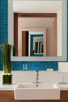 Beautiful bathroom decor at Grand Hyatt Baha Mar, Bahamas