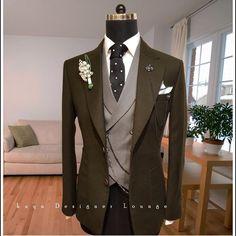 V Neck Button Up Belt Design Waistcoat Suit Up, Suit And Tie, Dress Suits, Men Dress, Dress Vest, Mens Fashion Website, Man Dressing Style, Cocktail Outfit, Formal Suits