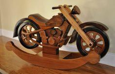 Wooden Motorcycle Rocker Plans Free Video Tutorial