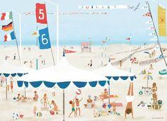 Été Summer... Illustration tinou le Joly Senoville tinoulejolysenoville.com