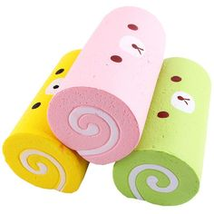 Jellyrolls! #Squishy super soft, seet smelling cakes for pretend play and fun!
