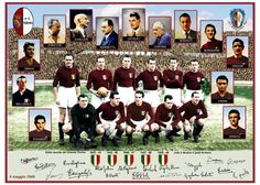 Victims of the tragedy of Superga. Grand Torino, Torino Fc, School Football, Football Jerseys, Image Foot, Non Plus Ultra, Sir Alex Ferguson, Soccer World, Soccer Games
