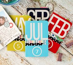 "You can now create a ""one-of-a-kind"" Planner for you or someone you love using Vinyl, printable Sticker Paper, Washi sheets, Faux Leather.all with the help of your Cricut Explore! Project Life, Project Ideas, Scrapbook Paper Crafts, Scrapbooking, Printable Sticker Paper, 2016 Planner, Cricut Explore Projects, Cricut Help, Cricut Fonts"