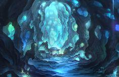 blue village underground by puyoakira.deviantart.com on @deviantART