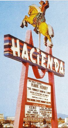Hacienda, Las Vegas. My family stayed there often when we were kids.