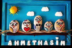 Sevilay hanimin siparisi gule gule kullansin  #elyapımı #handpainted #handmade #baykuş #owl #tasarim #creative #art #sanat #stoneart #stonepainting #pebbleart #rockpainting #siparisalinir #cocukodasi #hobinisat #aile #hediyelik #hediye #tablo #taskolik