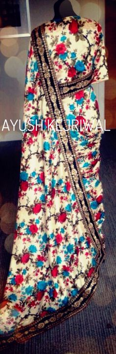 Saree by Ayush Kejriwal For purchases email me at ayushk@hotmail.co.uk or what's app me on 00447840384707  We ship WORLDWIDE.  #sarees,#saris,#indianclothes,#womenwear, #anarkalis, #lengha, #ethnicwear, #fashion, #ayushkejriwal,#bollywood, #vogue, #indiandesigners, #indianvogue, #asianbride ,#couture, #fashion