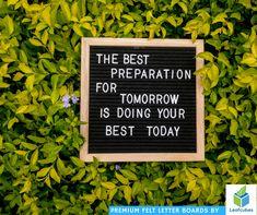 Get yourself ready today undertaking constant preparation. #leafcubes #leafcubesfeltletterboards #feltletterboards #letterboard #letterboards #letterboardlove #letterboardquotes #quotes #funquotes #momlife #momsofinstagram #mommybloggers #decorating #decorate #homedecorating #quotestoliveby #smallbusiness #smallbiz #quotesandsayings #styleinspiration #homedecor #homedecorator #diy #style #styling #photography #interiorstyling #lifestyleblogger #homeblogger #interiordesign #designyourlife