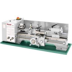 """Grizzly G9972Z 11"""" x 26"""" Bench Lathe w/ Gearbox - This is another great starter metal lathe with more capacity! This specially designed machine is an outstanding value and is able to take on light duty jobs requiring a 10 5/8"""" swing, a 1"""" spindle bor"""
