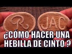"""¿Cómo bordar letras en cuero? """"El Rincón del Soguero"""" - YouTube"""