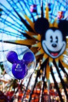 Disneyland California Adventure Park // Mickey's Fun Wheel // Paradise Pier