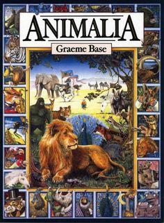 Animalia by Graeme Base: A phantasmagorical alphabet book for all ages