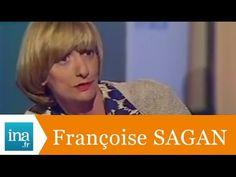 """Françoise Sagan """"Avec mon meilleur souvenir"""" - Archive INA - YouTube"""