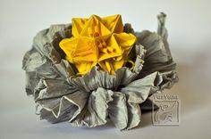 Origami - Froissage com Modular de Tomoko Fuse