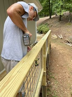 Wire Deck Railing, Porch Addition, Diy Deck, Decks And Porches, Building A Deck, Home Repairs, Backyard Projects, Cabin Plans, Courtyards