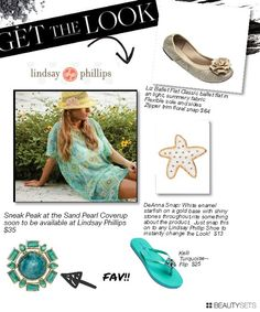 Lindsay- Phillips Giveaway (137 dollars package include flats, flips, snaps--shoe ornament, and beach coverup!) This is a Fashionista Events Giveaway, part of the 26,000 dollar, 98 giveaway Fashionista Events that runs March 7-13. GET OVER THERE AND START ENTERING!  http://stillblondeafteralltheseyears.com/2013/03/lindsay-phillips-review-shoe-ornaments/