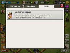 Clash of Clans Chat: screenshots, UI