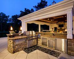 Beechwood Landscape Architecture outdoor kitchen