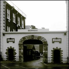 St. James's Gate - Guinness Factory in Dublin