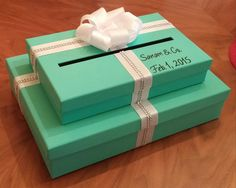 Two tier money gift card box request any color you need for a wedding baby shower birthday party or bridal shower