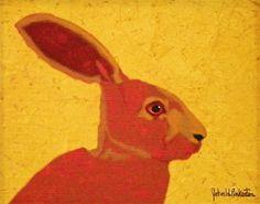 Jack Rabbit Painting  - John Pinkerton