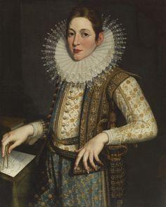 1582-1585 Scipione Pulzone - Portrait of an Architect