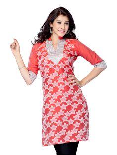 Shop beautiful classy #kurti online with #craftshopsindia