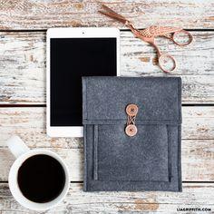 Make Your Own Felt Tablet Cover