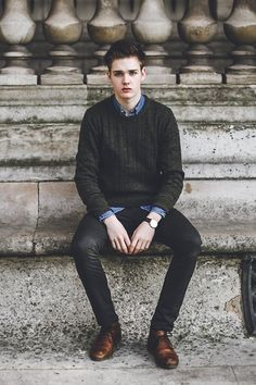 Suit Jumper #fashion #mensfashion #menswear #style #outfit #ootd