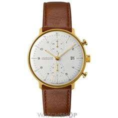 Men's Junghans Max Bill Chronoscope Automatic Chronograph Watch 1,550.00