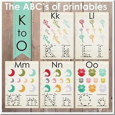 "The ABCs of Printables: letters K-O {mama♥miss} ©2013 and some activities to do with each letter (ex. Make Way For Ducklings book and activity for ""M"")"