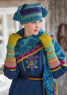 """Muhu"" cotton/wool gloves – Muhu Inspiration – GUDRUN SJÖDÉN – Webshop, mail order and boutiques 