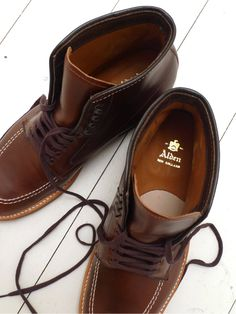 Alden- I'd wear them broke out just like this with dark denim and shut shit down.
