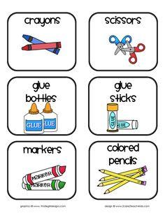 Cute Class Checklist | Teachers Desk- Classroom Management Printables- 2care2teach4kids.com