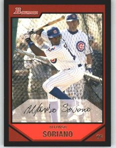 2007 Bowman 80 Alfonso Soriano - Chicago Cubs (Baseball Cards) * Read more reviews of the product by visiting the link on the image.