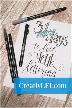 (This blog participates in affiliate marketing, some posts contain affiliate links. You can read my full disclosure statement for more information.) Handwriting. Calligraphy. Typography. Fonts. Everyone is crazy for lettering right now! Last fall after much prompting from friends, I shared a series of introductory lessons for improving your handwriting and getting started with creative ... Read More about  Love YOUR Lettering!