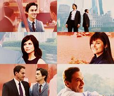 White Collar; I love Neal's face in the top left picture. :)