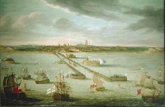 Les corsaires dunkerquois - Vue du port