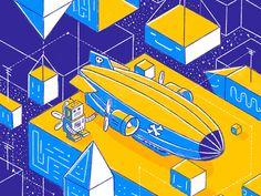 Pirat Airship by Petr Had