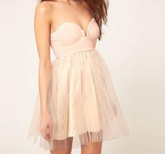 Tul pink dress ;)