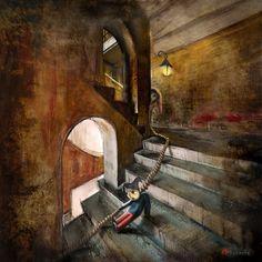 Down the Stairs (Glasgow School of Art) - Matylda Konecka