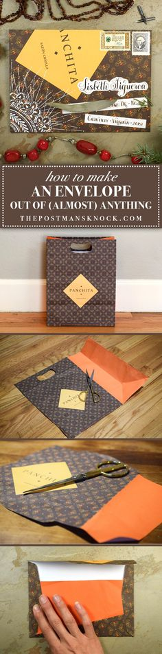 How to Make an Envelope Out of (Almost) Anything | The Postman's Knock
