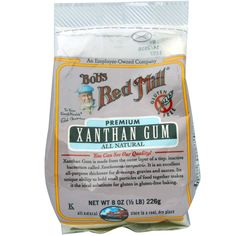 Buy Bob& Red Mill, Xanthan Gum, Gluten Free, 8 oz, 226 g at Megaviatmins online supplements store Australia.Xanthan Gum is substitute for gluten in gluten-free baking. Supplements For Hair Loss, Organic Supplements, Great Lakes Gelatin, Mastic Gum, Bobs Red Mill, Safflower Oil, Trans Fat, Nutrition Information, Gluten Free Baking