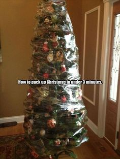 Pack Up Christmas #Christmas, #Pack
