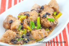 Easy Fish with Tausi Recipe - Fish with salted black beans is one of the Asian fish recipes that I enjoy for a couple of reasons: it is quick and easy to prepare; and it really tastes awesome – even when eaten with plain white rice. This fish recipe is perfect for lent and for people
