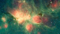 Milky Way Galaxy Eric Litvin presents: Newborn Stars Blow Bubbles in the Cat's Paw Nebula - Eric Litvin loves NASA! Newborn Stars Blow Bubbles in the Cat's Paw Nebula via NASA Nasa Pictures, Nasa Images, Orion Nebula, Andromeda Galaxy, Cosmos, Spitzer Space Telescope, Infrared Telescope, Star Formation, Space Photos
